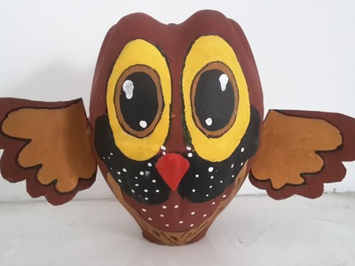 Best out of waste owl