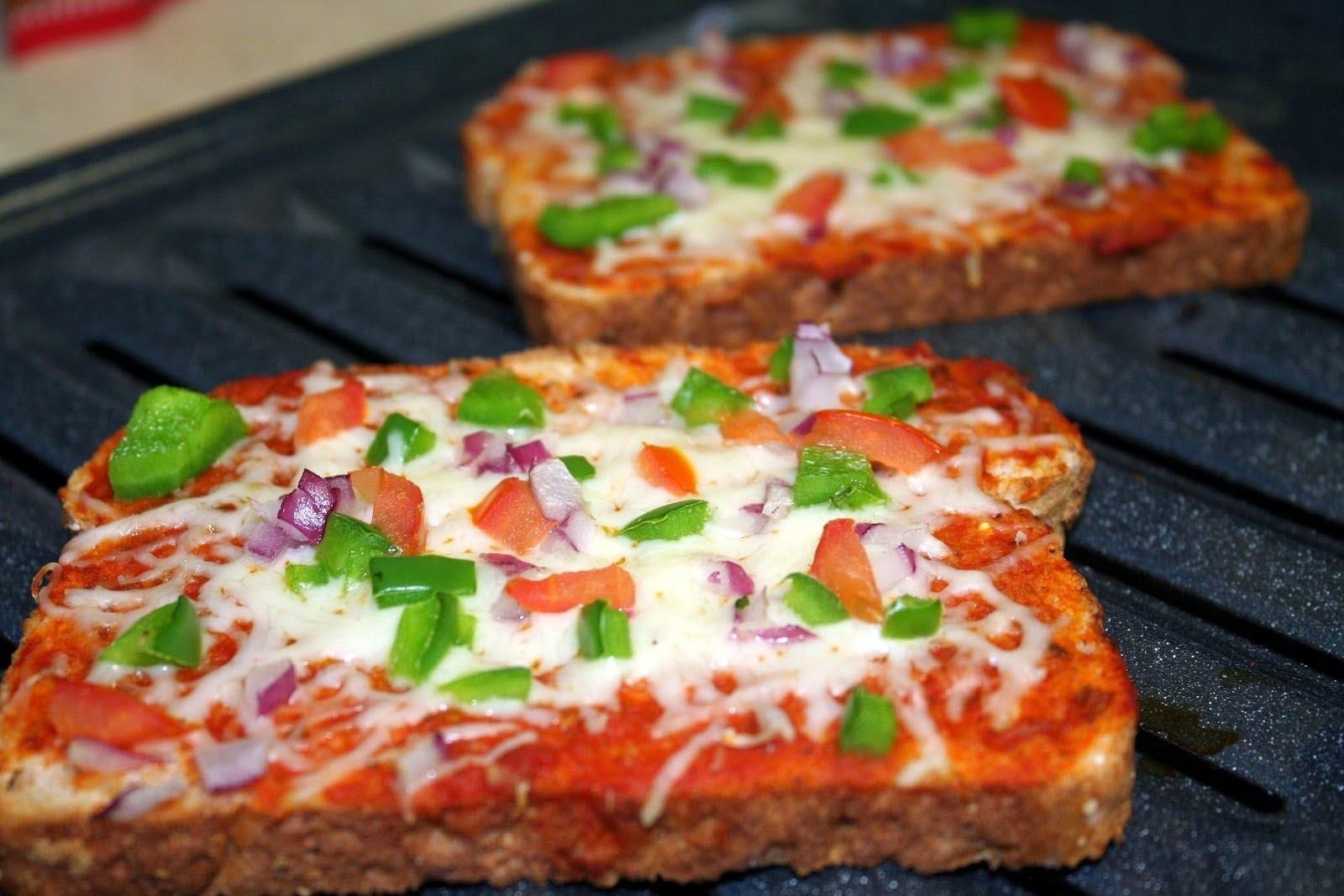 Рецепт пица в хлебе