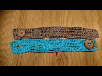 Crochet Gifts - Siem's Easy Bracelet - Tutorial - English