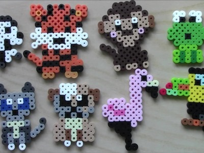 Easy Perler Bead Animals  Keychains and Magnets #3