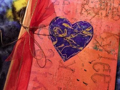 Gift Journal Part 2 - Tutorial Making a Journal