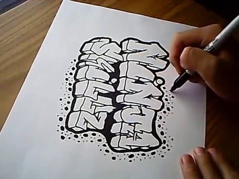 Graffiti On Paper