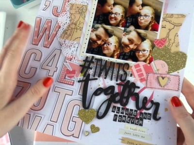 Kill a Kit + Layout Share ~ PART 1 ~ Scraptastic Dec All Of You Kit ~ EPIC RECORD