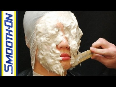 Lifecasting Tutorial: Making a Mold of Your Face with Reinforced Alginate