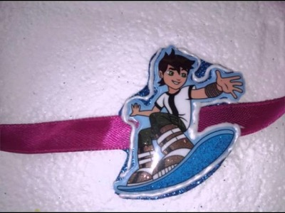 Make BEN 10 Rakhi For Kids In 3 Easy Steps | Craftlas