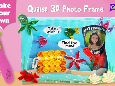 Make Your Own Quilling Photo Frame