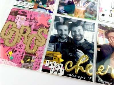 Project Life Scrapbooking Process Video ~ April Mark's Birthday