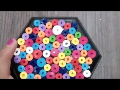Quilling jewelry box