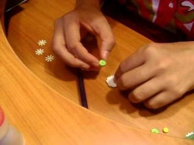 Semi-quilled flower tutorial