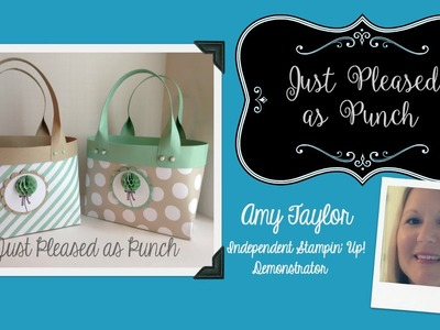 Stampin' Up! Tote Bag with It's My Party & Honeycomb Happiness