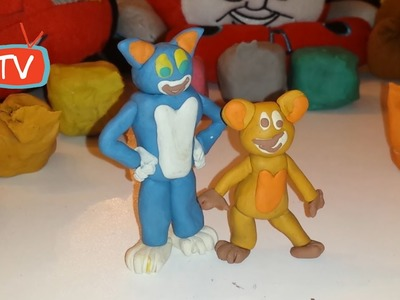 Tom And Jerry - Made By Modeling Clay - Creative Kids Ideas