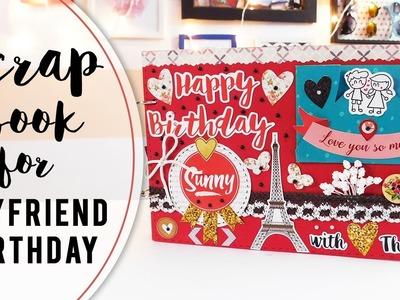 Birthday Scrapbook ideas for Boyfriend   DIY   2017