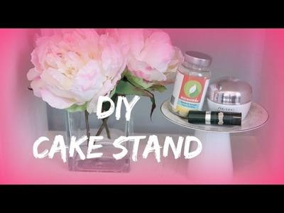 DIY CAKE STAND, Arts & Crafts