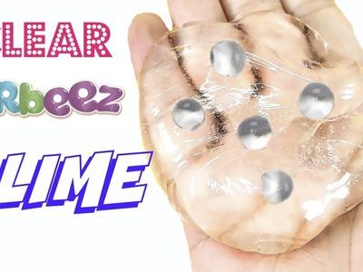 DIY CLEAR ORBEEZ SLIME! ASMR SLIME! COMO HACER ORBEEZ SLIME!