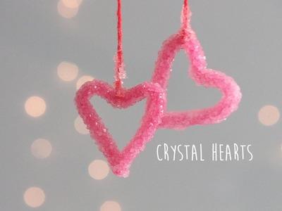 DIY: Crystal Hearts