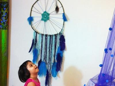 DIY Dreamcatcher.No weave.most easy method