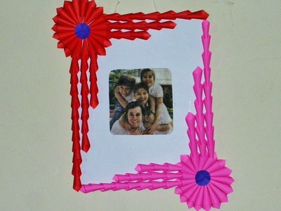 DIY EASY ( Photo Frame. Gift Idea ) Made with ONLY PAPER | Art Strategy |