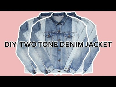 DIY FASHION DENIM JACKET   I MEN'S FASHION