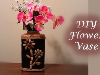 DIY Flower Vase - Best out of waste   Flower Vase out of Gerber Cereal box