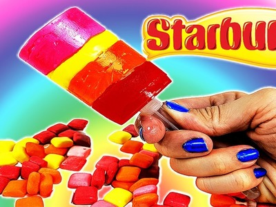 DIY: Make Your Own HUGE Starburst Candy PUSH POP Candy Treat!! So Easy, so Good!