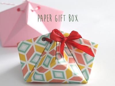 DIY: Paper Gift Box