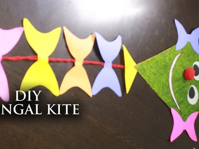 DIY Pongal Kite Decorator || Useful Crafts with Waste Material || Krafts n Creations