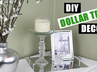 Dollar Store DIY Room Decor | Dollar Tree DIY Candle Holder | Dollar Store DIY Candle Stand