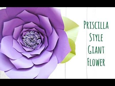 Giant Paper Flower Backdrop Tutorial