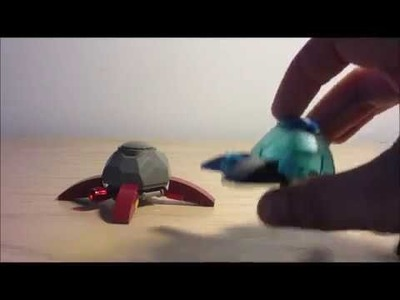 How to build a lego turtle and jelly fish