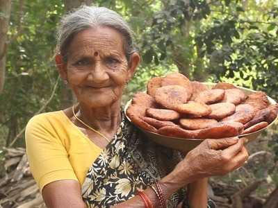How to Cook Kobbari Burelu in Village Style by My Grandma || Myna Street Food || Food Info