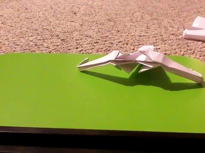 How to make a klingon bird of prey (D-7 battle cruiser