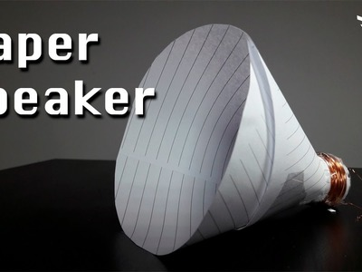 How To Make a Paper Speaker