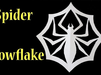 How To Make A Spider Snowflake From Nightmare Before Christmas!