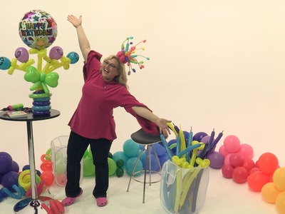 How To Make An Out-Of-This-World Balloon Awesome Bouquet