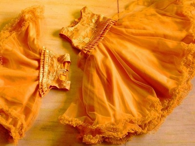 HOW TO MAKE BEAUTIFUL UMBRELLA FROCK (PART_1)