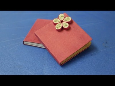 How to make Mini Notebook - Gift ideas - crafting