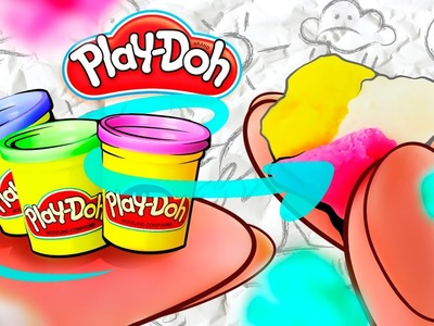 How To Make Miniature PLAY-DOH | REAL HandMade PLAY-DOH For Kids!
