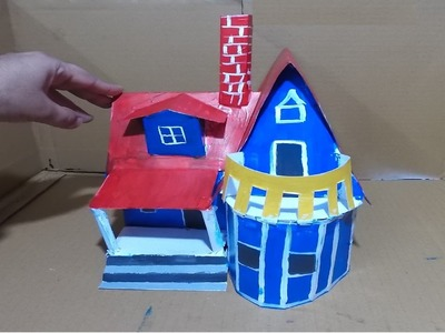 How to make paper House - Mansion
