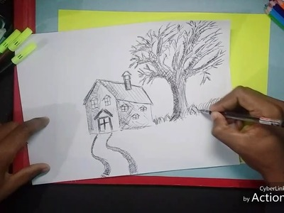 How to make simple sketch drawing