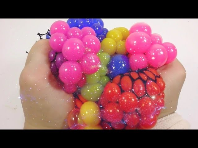 Ball, How To Make Slime Squishy Ball Learn Colors Play Doh Surprise Egg Wheels On The Bus, English