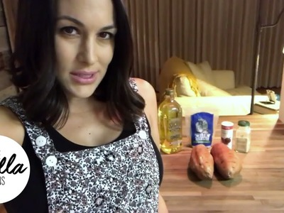 How to make sweet potato fries with Chef Brie - Part 1