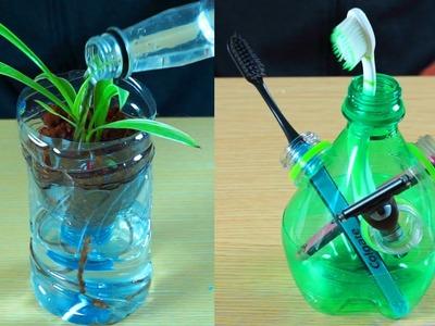 10 DIY Plastic Bottles Life Hacks - DIY Ideas