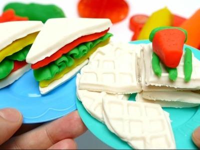 Barbie Super Sandwiches Cooking - DIY Toys