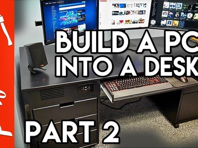Building A Computer Desk. DIY Desk PC, Part 2