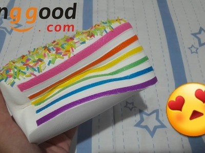 Chawa Rainbow Cake?!? || Review Package From Banggood.com #2 || IND