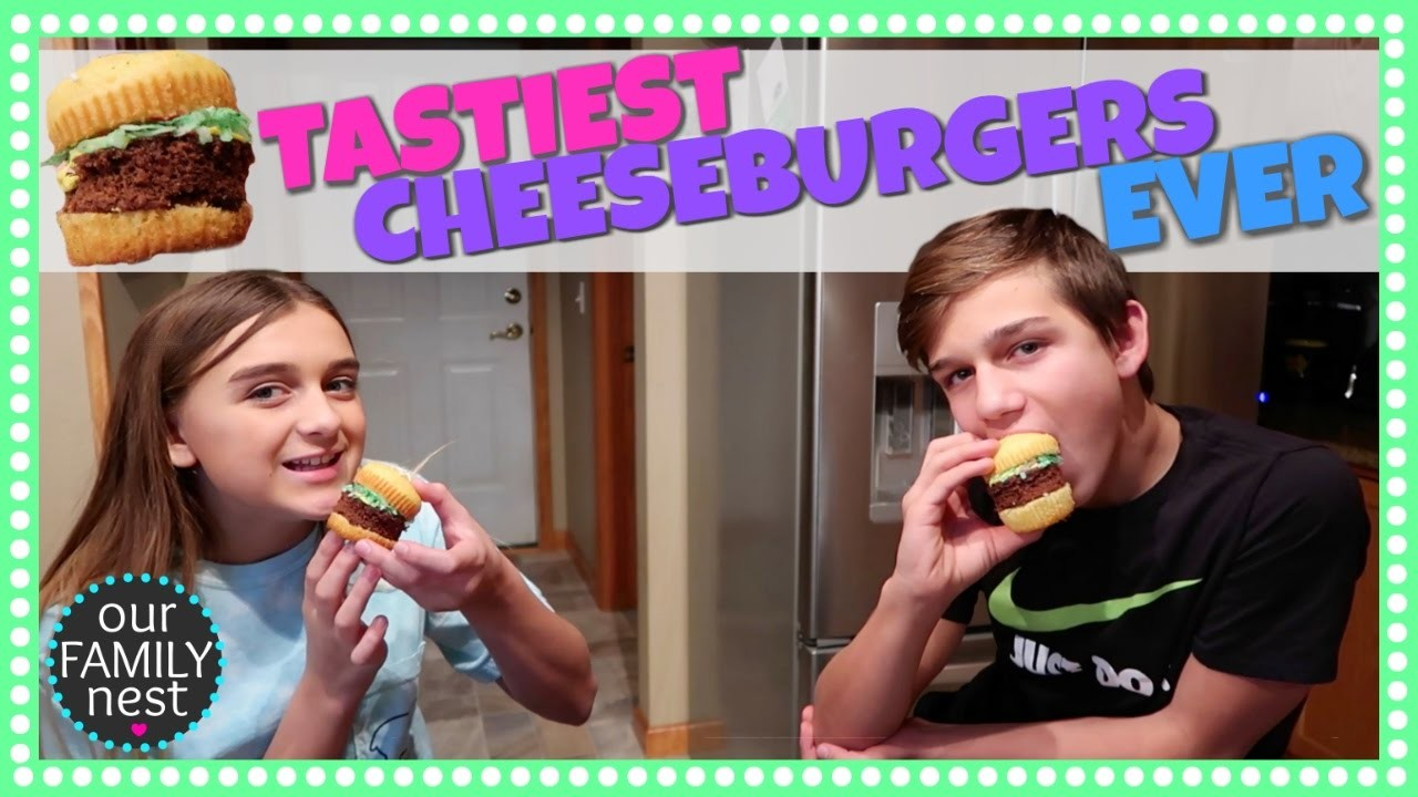 CHEESEBURGERS FOR DESSERT? WHERE'S THE BEEF? NERDY NUMMIES DIY