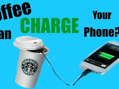 COFFEE CAN CHARGE YOUR PHONE?!?! Easy & Simple DIY room decor | Pinterest with Titi