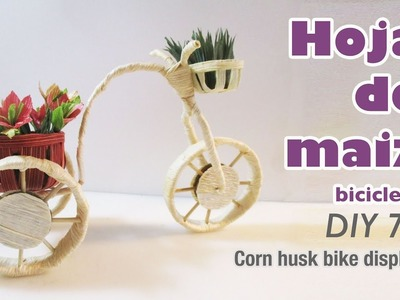Como hacer manualidades con hoja de maiz 73.How to make con husk crafts