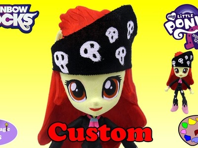 CUSTOM My Little Pony Apple Bloom Rainbow Rocks Equestria Girls Happy Magic Toys