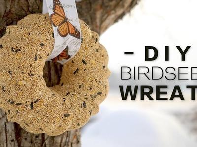DIY Birdseed Wreath. Garden Answer